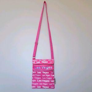 Las Vegas Pink Crossbody Bag Bovano U.S.A.